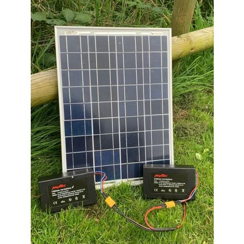 Anatec Lithium Solar Panel