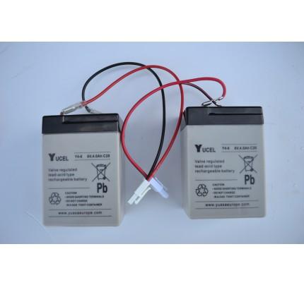 Shuttle Batteries (white plug)