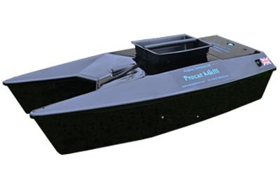 angling technics bait boats