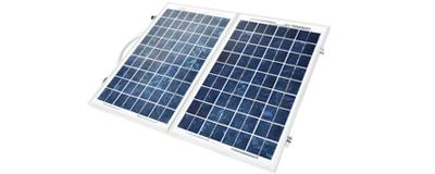 bait boat solar panels